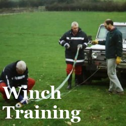 Lantra winch operator training